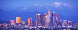 Path Los Angeles Mountain Skyline